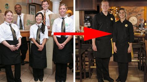 olive garden unveils modern uniforms servers rejoice