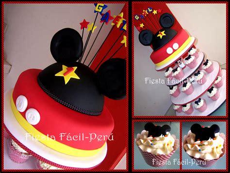 fiesta facil fiesta facil peru torta mickey mouse y minnie coqueta