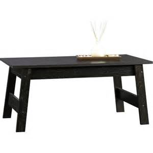 Sauder Coffee Table Sauder Beginnings Collection Coffee Table Black Walmart