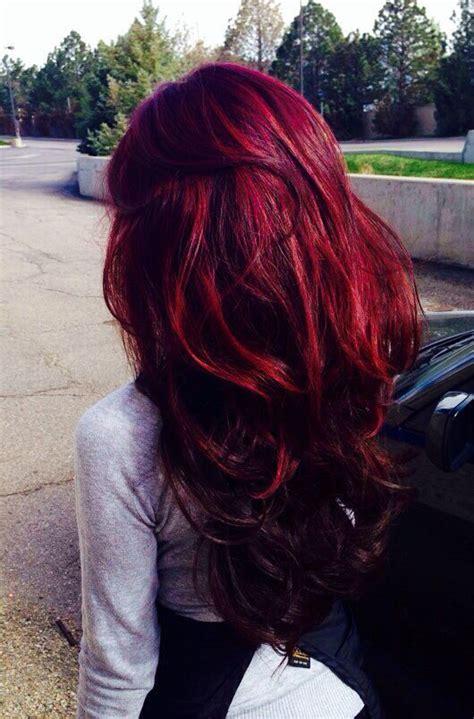 garner black cherry hair color on older women dunkelrotes haar tief rote haare and rotes haar on pinterest