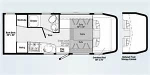 Navion Rv Floor Plans by 2008 Itasca Navion Series M 24b Dodge Sprinter Diesel