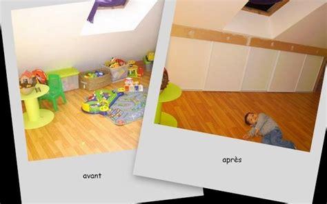 Chambre D Enfant Un sous pente avant apres etape1 photo de 2 maison le