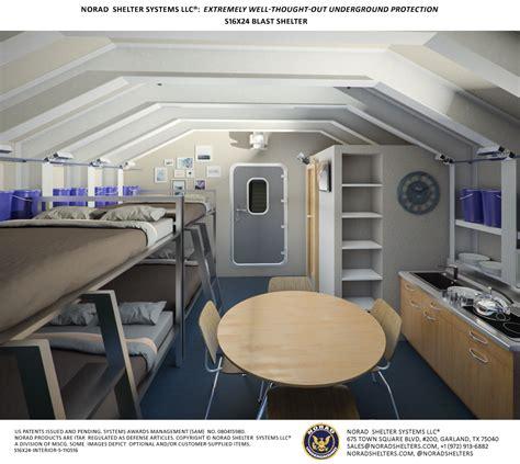 Nucear, biological, chemical EMP underground bomb shelter