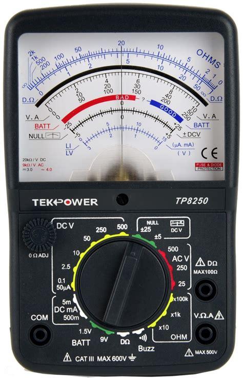 Multimeter Analog analog multimeter