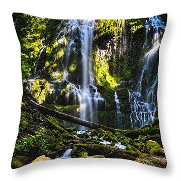 pillow proxy proxy falls photograph by belinda greb