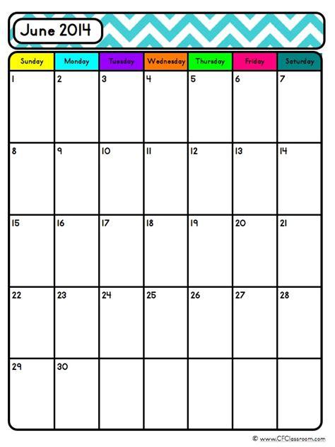 blank calendar templates for teachers editable blank calendars teacher organization tool