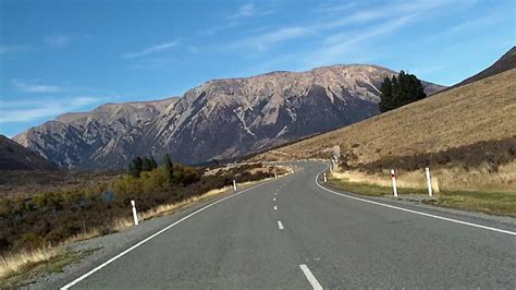 drive nz south island road trips scenic routes nz travel