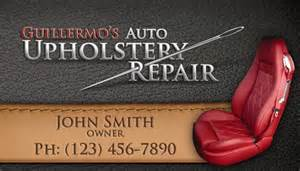upholstery business cards upholstery repair business card design graphic design