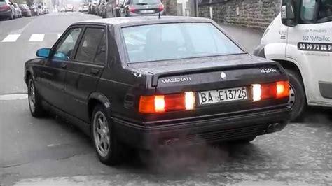 1990 maserati biturbo maserati biturbo 4 24v youtube