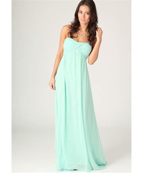 Dress Maxi Nabilah Maxi Mint lyst missguided harriet gathered chiffon look maxi dress