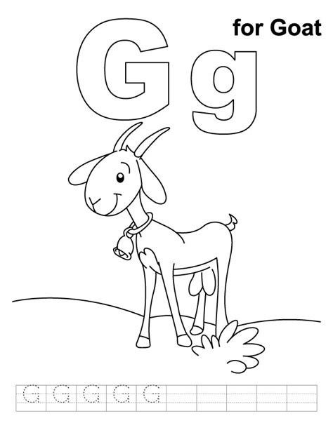 goat coloring pages kindergarten goat coloring pages for preschool coloring pages