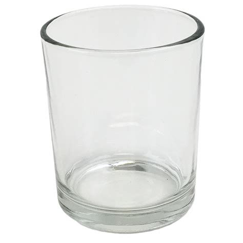 clear glass votive candle holder 2 88 quot h