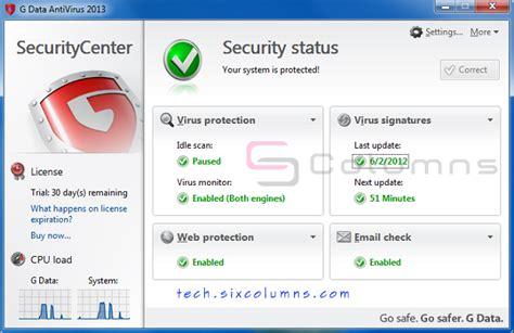 guardian antivirus free download 2012 full version with key g data antivirus 2012 full version go download best