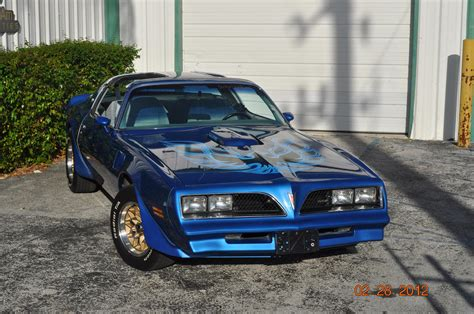 Blue 78 Trans Am by Trans Am 1978 Blue Martinique