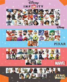 Disney Infinity Checklist Disney Infinity 3 0 Character Checklist Version 1 By