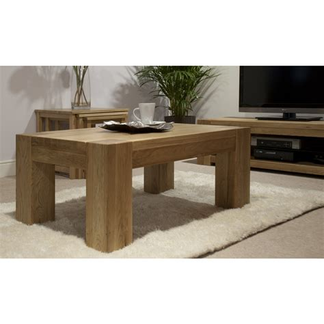 Living Room Oak Table Michigan Coffee Table Large Solid Oak Living Room