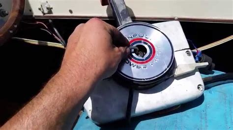 boat throttle and shift cable replacement boat shifter fix reverse stuck youtube