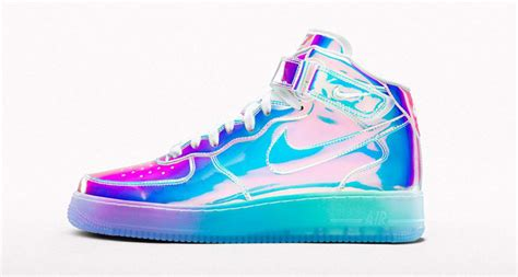nike air force  id iridescent complex