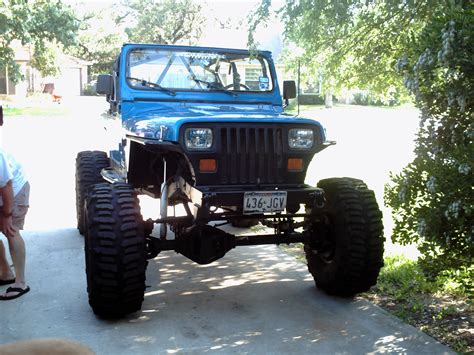 jeep yj rock crawler jeepclassifieds com 93 wrangler rock crawler