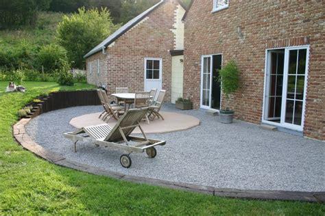 Faire Une Terrasse En Gravier 2125 by Gravier Construction De Notre Maison