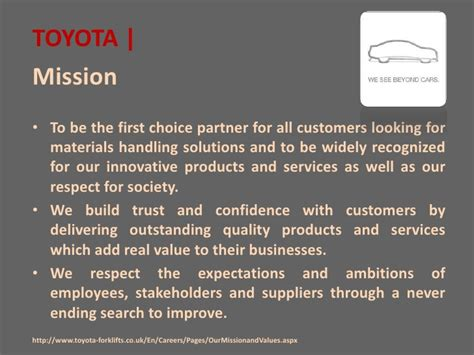 toyota s vision mission