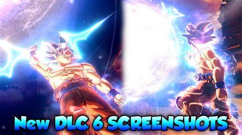 new dlc 6 screenshots ultra instinct goku story mode