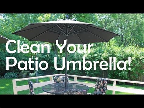 How To Clean Patio Umbrella How To Clean Your Patio Umbrella