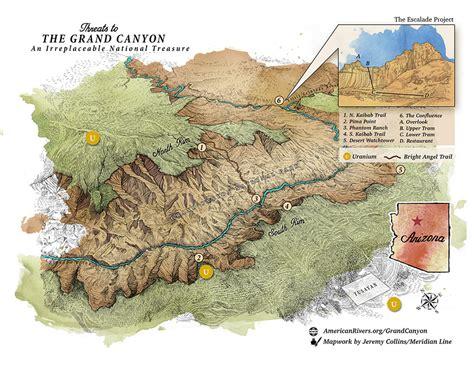 colorado river grand map colorado river in the grand american rivers