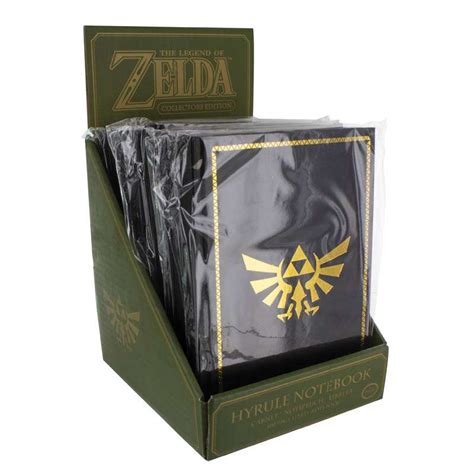 Original Quest Legend Item Gallery Equipment Of Hagure Metal the legend of hyrule notebook by paladone products