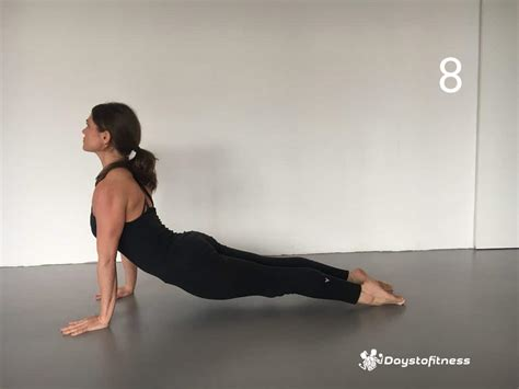 upward facing poses for beginners days to fitness