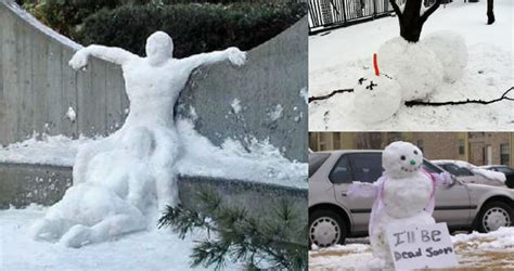 Snowman Meme - these aren t your ordinary snowmen 24 funny pics