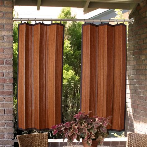 outdoor curtains clearance indoor outdoor duo tension rod set 28 quot to 120 quot