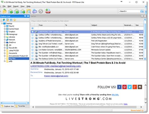 email viewer get message viewer lite on pc free version with image