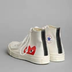 Converse Ct Ii 70s Hi Cdg Play 100 Bnib Quality Black White comme des garcons play x converse sz 45 new 100 auth plays and converse