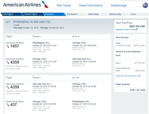 The Flight Deal   American ? $221: Philadelphia ? Salt