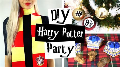 Harry Potter Birthday Supplies Australia by Diy Harry Potter Ideas ϟ Decor Gifts Treats