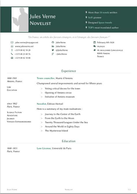 Xelatex Resume Template by Resume Format Xelatex Resume Template