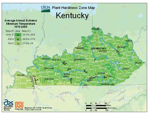 kentucky map with time zones kentucky vegetable planting calendar