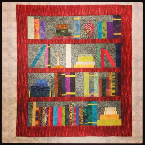 quilt pattern bookshelf bookshelf quilt original pattern quilts art