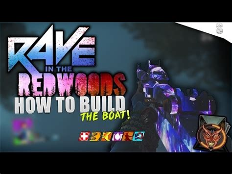 boat parts rave in the redwoods call of duty infinite warfare zombies rave in the redwoods