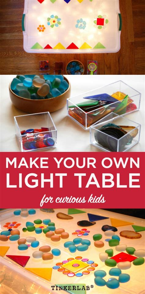 child craft light table easy low cost light table tinkerlab