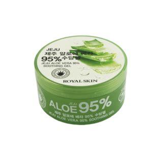 Jeju Fresh Aloe Vera Soothing Gel 300 Ml buy royal skin jeju aloe vera 95 soothing gel 300ml