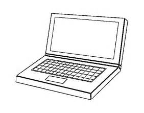 gallery gt laptop computer coloring pages