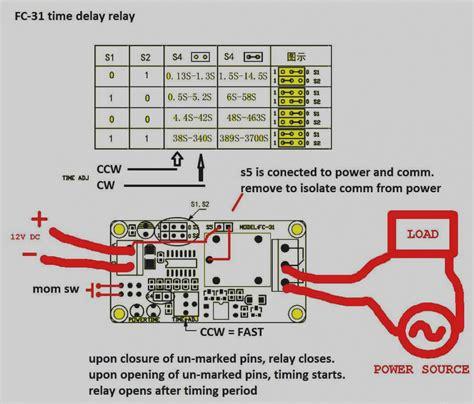 Dayton Time Delay Relay Wiring Diagram