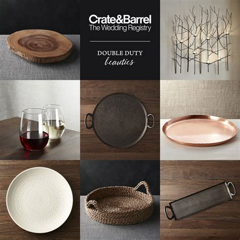 Wedding Registry Basics by Crate And Barrel Beyond The Basics Wedding Registry Ideas