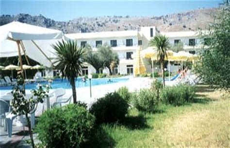 olive garden hotel in lindos area located on lardos