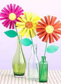 Make Construction Paper Flowers - construction paper flowers for earth day or summer