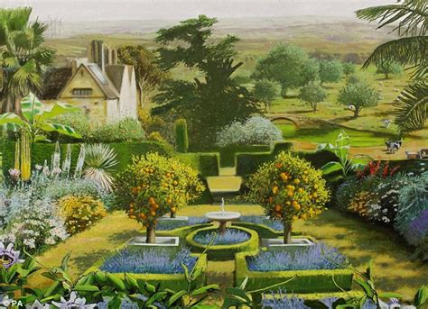 national trust uk garden images show effect of global