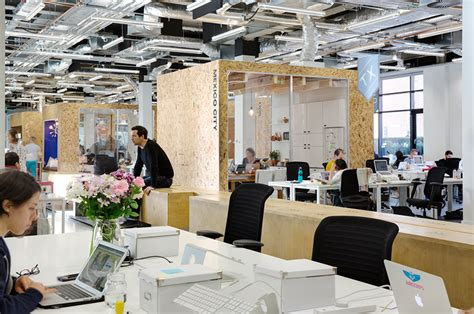 office dublin heneghan peng creates open collaborative spaces for airbnb dublin office
