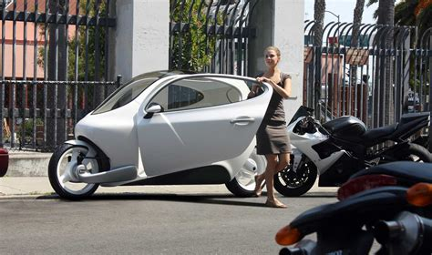 lit motors c 1 electric an electric car on two wheels